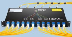 MTP-LC 96 fibers breakout patch panel facilitates 10G to 40G and 25G to 100G migration in structured cabling environments. More details: http://www.fs.com/patch_panel.html