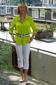 Now this is my style! Check out all her looks!  No Fear of Fashion- Classic Dressing With a Colorful, Funky Twist | Fabulous After 40