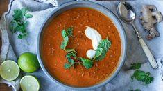 no - Finn noe godt å spise Lentil Casserole, Garam Masala, Lentils, Thai Red Curry, Food And Drink, Indian, Vegan, Ethnic Recipes, Dinner Ideas