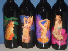 Norma Jeane 2002 2003 2004 2005 Set 4 Marilyn Monroe California Merlot Red Wine #NormaJeane Norma Jeane wines reflect the freshness and youthful charm of the young Marilyn Monroe. These are wines full of vibrant fruit flavors that are meant to be enjoyed soon after they are released. Each vintage of Norma Jeane Merlot features a photograph taken of the young actress in the years just before she captured the imagination of the American public as Marilyn Monroe