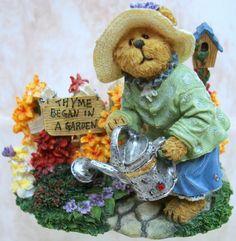 Boyds Bears Bloomin Flutterby Tealight