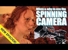 Spinning camara