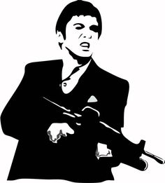 Scarface Wall Art by LynchmobGraphics on Etsy