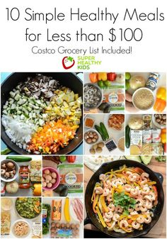 10 Simple Healthy Kid-Approved Meals from Costco for Less than $100 | Healthy Ideas for Kids