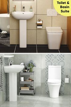 Fix a suite in your bathroom & sing loudly . Small Bathroom Suites, Cloakroom Suites, Royal Bathroom, Toilet Suites, Modern Toilet, Door Design Interior, Basin, Contemporary, Luxury