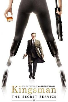 Poster Of Kingsman The Secret Service (2015) In Hindi English Dual Audio 300MB Compressed Small Size Pc Movie Free Download Only At all-free-download-4u.com