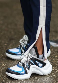 Trendalert: Dad sneakers | Sneakers | Chunky sneakers | How to wear | more on fashionchick.nl