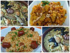 Tres sencillos y rápidos platos de arroz | Cocina