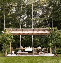 Would love to have an outdoor pergola like this someday! --Bobby Flay's Hamptons House Elle Decor (5)