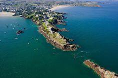Saint Lunaire, la pointe du Décollé St Malo, Station Balnéaire, Brittany, River, La Pointe, City, Guide, Outdoor, Victoria