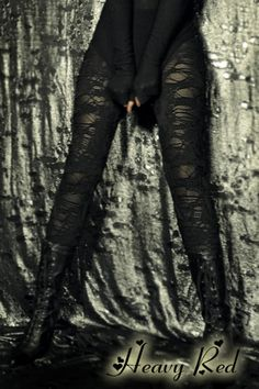 Shredded Leggings By: Heavy Red..... Love these!