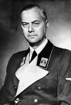 Alfred Rosenberg, Nazi war criminal executed at Nuremberg, 1946