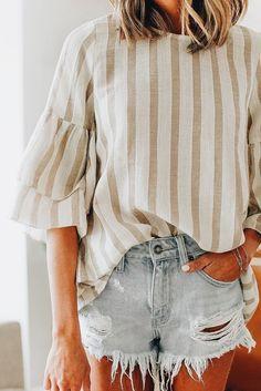 Summer Fashion Tips .Summer Fashion Tips Mode Outfits, Casual Outfits, Fashion Outfits, Fashion Tips, Fashion Trends, Fashion Bloggers, Fashion Hacks, Diy Fashion, Easy Style