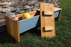 This project brings three big wins for your deck or patio: seating, storage, and style. It's built from cedar boards that look great and will hold up to the elements outdoors. Lift-off panels simplify construction and eliminate hardware that could rust, and it goes together using pocket-hole screws.
