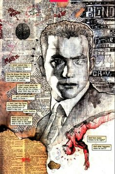 """David Mack art from """"Daredevil: Wake Up"""""""
