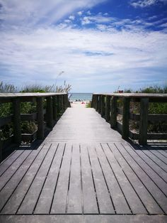 Inviting view of Englewood beach