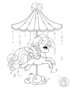 Dessin De Licorne Volante A Imprimer Contemporain Photo Image Kawaii