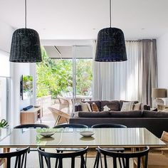 Trendy dining room d