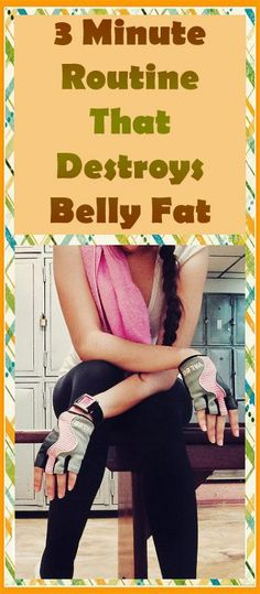 3-Minute Routine for Destroys Belly Fat – Lifee Too
