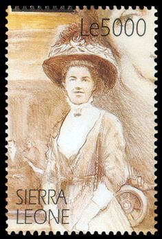 Detective Fiction on Stamps: Sierra Leone: Agatha Christie