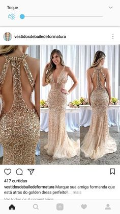 Lindo Gala Dresses, 15 Dresses, Elegant Dresses, Beautiful Dresses, Nice Dresses, Fashion Dresses, Formal Dresses, Backless Prom Dresses, Bridesmaid Dresses