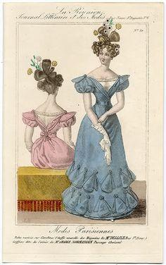 Evening dress, 1827 France, La Reunion