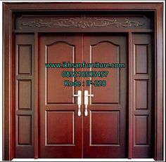 Main door Panel doors and Doors on Pinterest