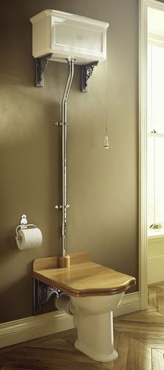 If you want the timeless traditional look for your bathroom then you need a high level toilet in your life!