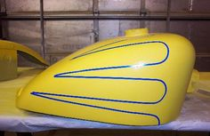 scallop tank paint - Google Search Paint Schemes, Google Search, Painting, Paint Color Schemes, Painting Art, Paintings, Painted Canvas, Drawings