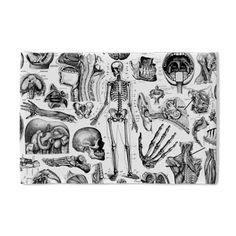 Human Anatomy Pillow Case