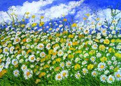 GALERIA PALOMO MARIA LUISA: ALEGRIA NATURAL... Natural, Painting, Art, Painted Flowers, Canvases, Art Background, Painting Art, Kunst, Paintings