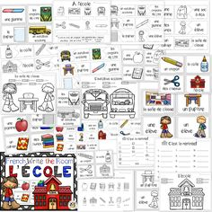 Great French activity for back to school #school #backtoschool #French #Français