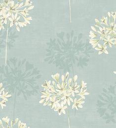 Papel pintado flores delicadas vintage Lily 564657