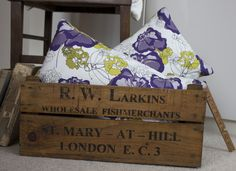 Carnation Hedgerow Cushion - Day Dream Hedgerows Collection.
