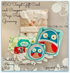 $50 Target Gift Card and Prize Pack (value $95) Giveaway 10/25-11/15