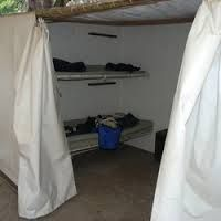 Housekeeping Camp tents in Yosemite