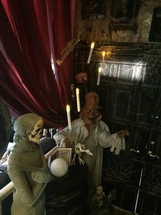 My Own Props Halloween 2016 Haunted Mansion  Formal Dining Room Pleasing Haunted Mansion Dining Room Design Inspiration