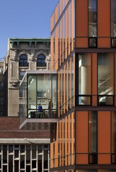 The Diana Center at Barnard College,© Paul Warchol