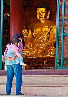 Checking Out Buddha | Chogyesa Temple, Seoul