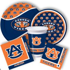 Auburn Party Supplies from www.DiscountPartySupplies.com