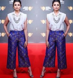 Parineeti chopra channels confidence and relaxation in this payal singhal ensemble