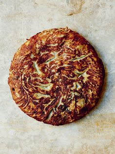 Aubergine, honey & blue cheese omelette recipe from Basque by Jose Pizarro Cheese Omelette, Omelette Recipe, Omelette Ideas, Cake Ingredients, Homemade Tacos, Fish Recipes, Meal Recipes, Basque