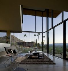 Big windows at Jarson Residence by Will Bruder + Partners