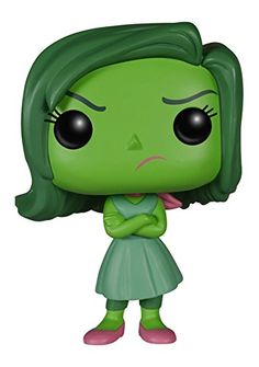 Amazon.com: FunKo POP Disney/Pixar: Inside Out - Disgust Toy Figure: Funko Pop Disney: Toys & Games