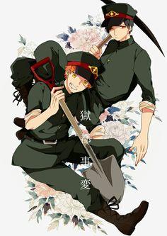 Tagami and Hirahara from Underworld Capital Incident
