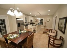 Just picture hosting your friends and family in this excellent space