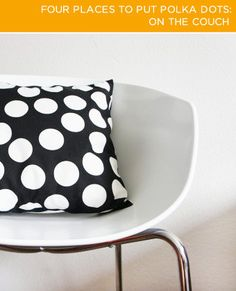 BrightNest | 2X4: Four Places to Put Polka Dots