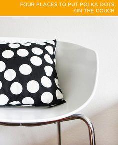 BrightNest   2X4: Four Places to Put Polka Dots