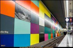"""U-Bahn-Station """"Georg-Brauchle-Ring"""" - München-Spezial #München #Munich #Bayern #Bavaria #Deutschland #Germany #subway #underground #station #igersgermany #IG_Deutschland #underground_enthusiasts #biancabuergerphotography #metro #shootcamp #pickmotion #architecture #Architektur"""