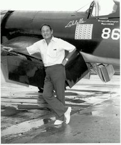Pappy Boyington was a highly decorated American combat pilot who was a United States Marine Corps fighter ace during World War II. He received both the Medal of Honor and the Navy Cross.